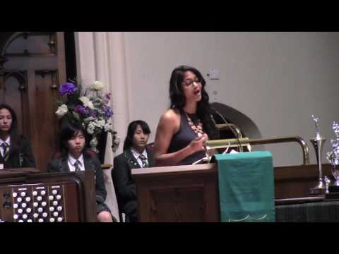 Andi Sharma '03 Balmoral Hall Graduation Keynote Speech