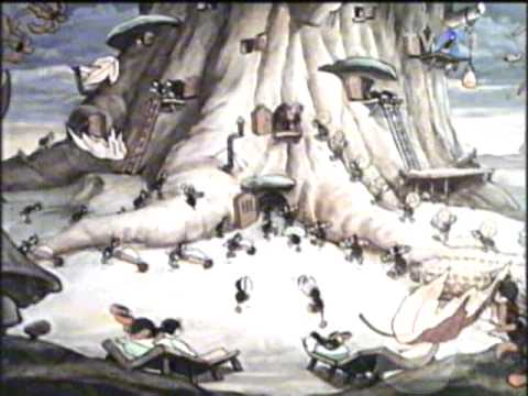 Desene animate - Greierele si furnicile
