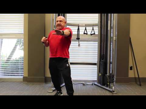 Single Arm Cable Chest Press with Rotation | Delray Beach Personal Trainer