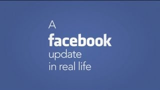 A Facebook Update In Real Life | Extremely Decent