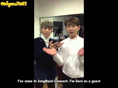 151017 Onew @ JongHyun's concert