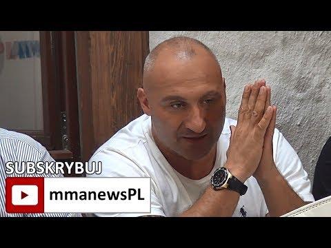 """Marcin Najman po bijatyce PLMMA 74: """"Trybson nie jest mężczyzną!"""""""
