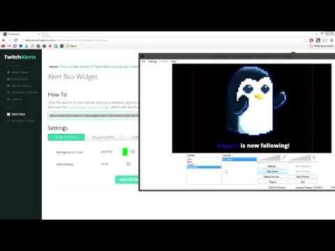 How To Setup TwitchAlerts for OBS Classic