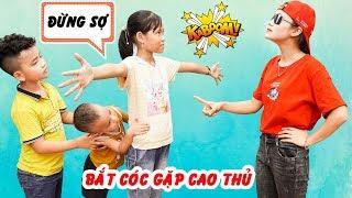 Giải Cứu Bạn Khỏi Người Xấu - Dạy Bé Không Được Đi Chơi La Cà ♥ Min Min TV Minh Khoa