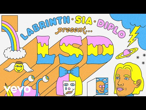 LSD - Heaven Can Wait (Official Audio) ft. Sia, Diplo, Labrinth