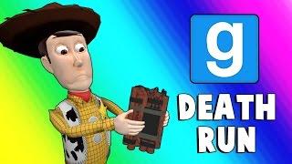 Gmod Deathrun Funny Moments - Dusty Town (Garry's Mod)