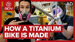 /how a titanium bike is made moots factory tour
