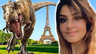 J'ai chassé un T-REX dans Paris 🦖 Jurassic World Alive