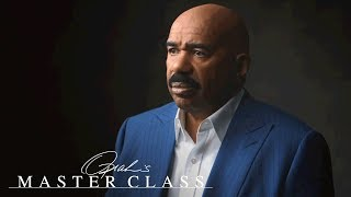 Steve Harvey Describes His Emotional Breaking Point in a Hotel Bathroom | Oprah's Master Class | OWN