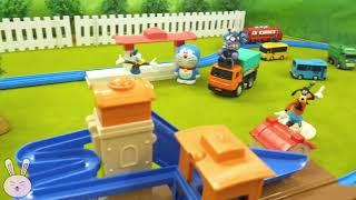 Wheels on the bus songs Plarail Railway Train Pororo trucks and Cars Nursery rhyme YapiTV