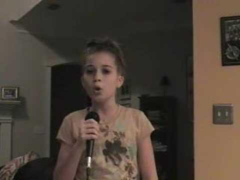 Jill sings hurt christina aguilera 12 year old