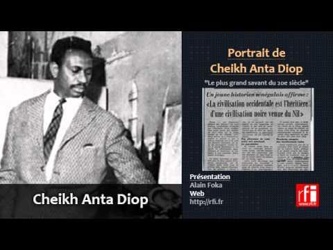 Portrait de Cheikh Anta Diop