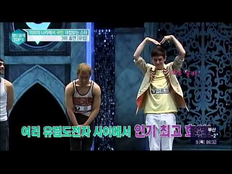 140109 Hyoyeon's Popularity in Europe (ENG)