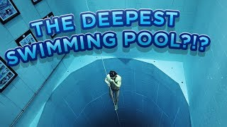 WHERE You Want Your BIRTHDAY??!! FREEDIVING in the DEEPEST Pool!! /// WEEK 87 : Belgium