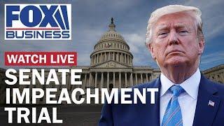 Trump impeachment trial in the Senate | Day 3