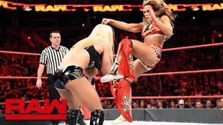Sasha Banks, Bayley & Mickie James vs. Alexa Bliss, Mandy Rose & Sonya Deville: Raw, Feb. 19, 2018