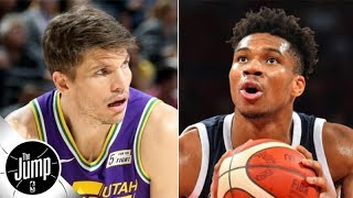Giannis is working on his jumper with Kyle Korver | The Jump