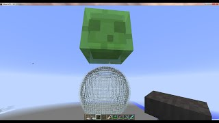 Giant Slimes and Magma Cubes in 1.7.10 Vanilla Minecraft!!!