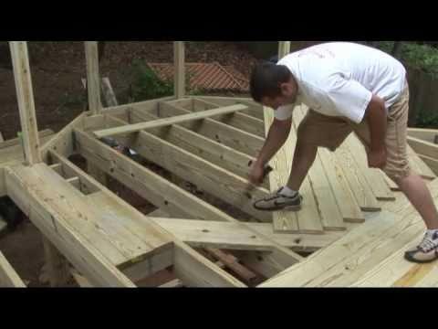 How To Install Decking Decks Com Youtube