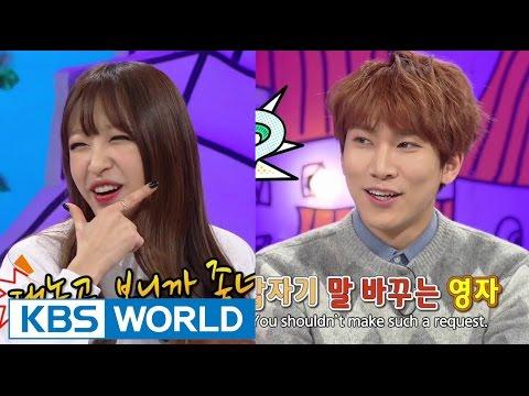 Hello Counselor - Hanui, Jeonghwa, Jinhyeok, & Eunkwang (2015.02.02)