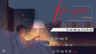 Lyrics | For you - minhmeo
