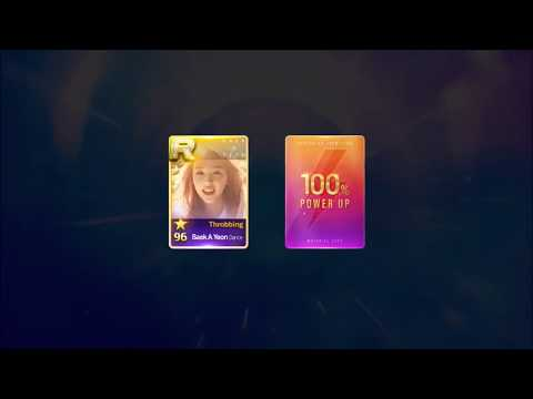 [SuperStar JYP Nation] Rating Up Baek A Yeon R81 to R99