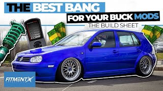Top 5 Best Bang For Your Buck Car Mods | The Build Sheet
