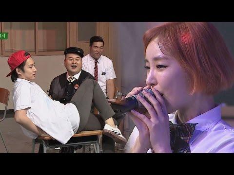[미공개] 섹시 보컬 가인 & 요염 댄스 희철 '피어나'♪ 아는 형님 43회