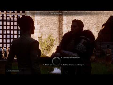 Dragon Age Inquisition - Are You With Anyone? (Cullen Romance PC Part 5)