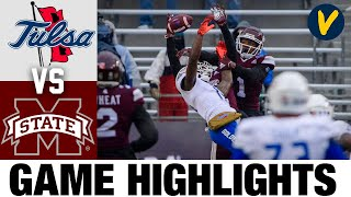 #24 Tulsa vs Mississippi State Highlights | 2020 Armed Forces Highlights| College Football