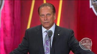Tom Izzo's Basketball Hall of Fame Enshrinement Speech