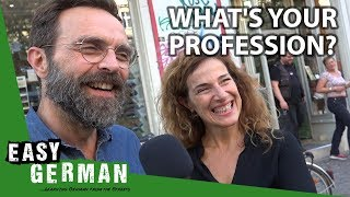 What is your profession?   Easy German 266
