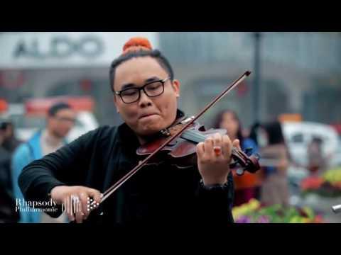 FLASHMOB Wake me up Rhapsody Philharmonic Ha Noi, Viet Nam