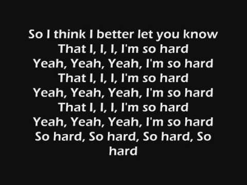 Rihanna Feat. Young Jeezy Hard (lyrics)