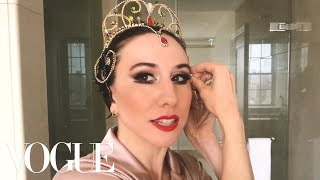 Ballerina Isabella Boylston's Black Swan Makeup Transformation   Beauty Secrets   Vogue