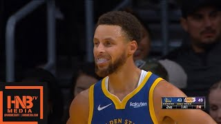 Los Angeles Lakers vs Golden State Warriors - 1st Half Highlights | October 14, 2019 NBA Preseason
