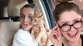 I DID SOMETHING CRAZY (i adopted a cat....) - Emma Chamberlain Reaction