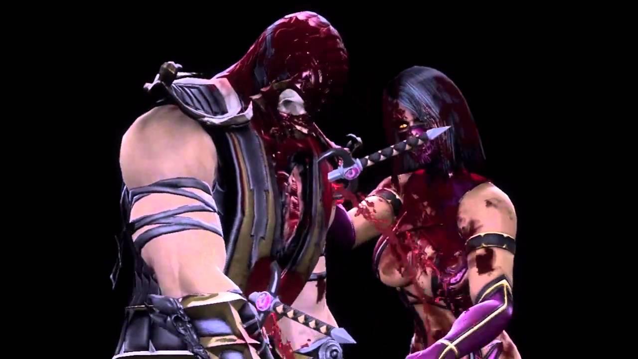 Mortal Kombat 9 Mileena's Fatality (HD) - YouTube