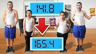 Who can GAIN the MOST WEIGHT in 24 Hours - Challenge ($15,000 Prize!) | MindOfRez