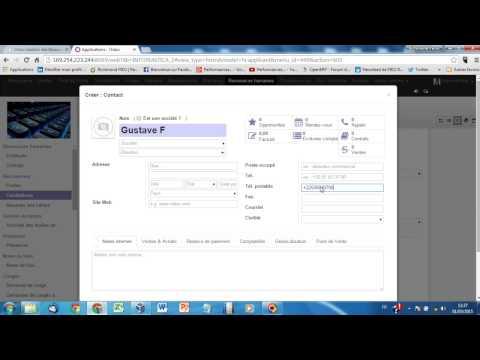 Odoo V8  GRH 1: Recrutement et Gestion du personnel