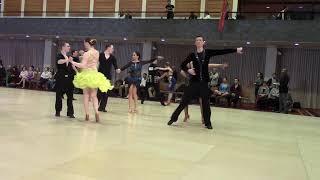 Gold Rhythm Cha Cha Semifinals (Isabel, Micah, Ryan, Natasha)