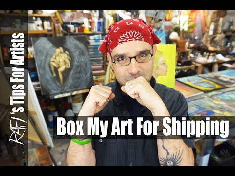 How I Package My Art - Tips For Artists