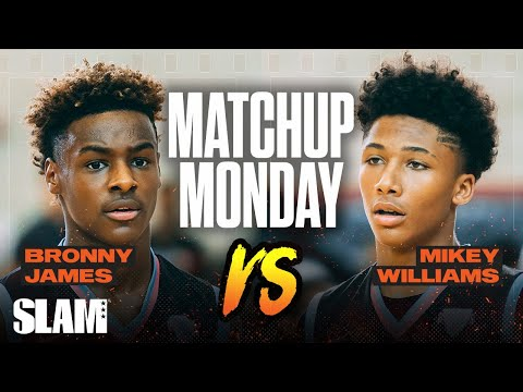 Bronny James vs Mikey Williams: Which Freshman you taking!? SLAM Matchup Monday