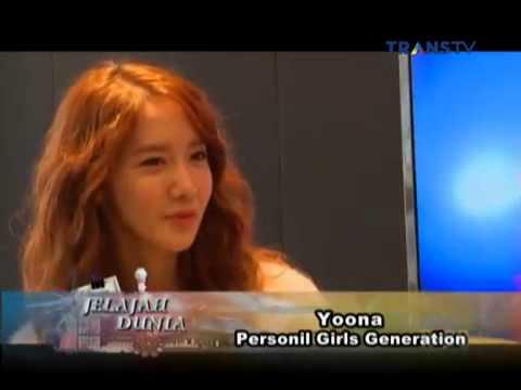 Jelajah Dunia   Nirina Zubir interview with Yoona