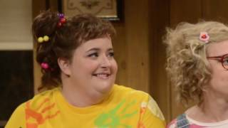 Breaking Character Kate McKinnon and Aidy Bryant