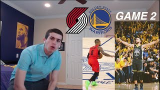 warriors hater reacts to warriors vs blazers game 2... yea this is a sweep.