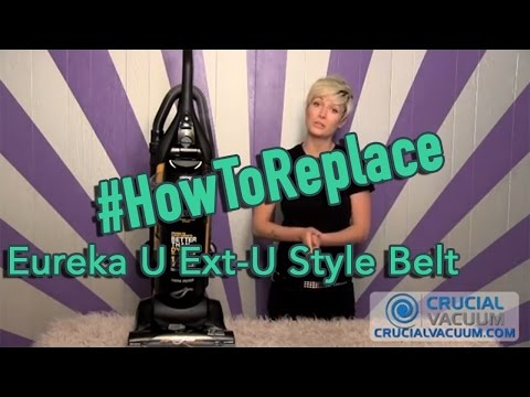 Eureka U Ext U Style Belt Replacement For Part 61120a