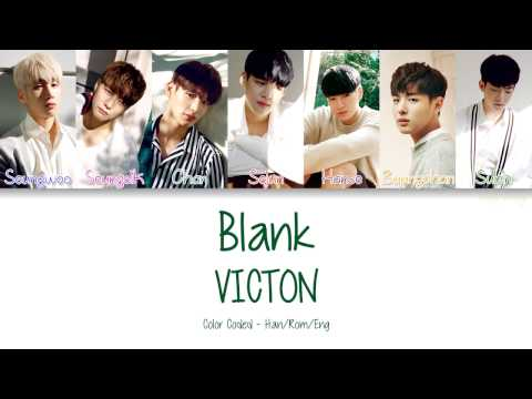 VICTON [빅톤] - Blank [얼타] (Color Coded Lyrics | Han/Rom/Eng)