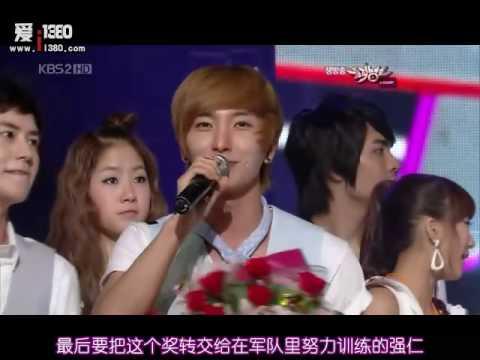 [HD中字]10.07.09 MB Super Junior No Other 一位得獎 (再沒有像你這樣的人)
