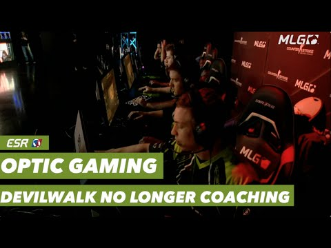 Optic Gaming Devilwalk no longer coaching